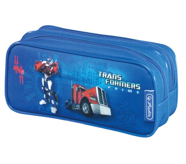 Penál pouzdro etue Transformers Prime modrý modra