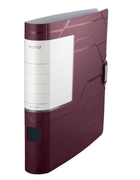 Pořadač pákový 5cm mobilní Prestige Active mahagonový 129059