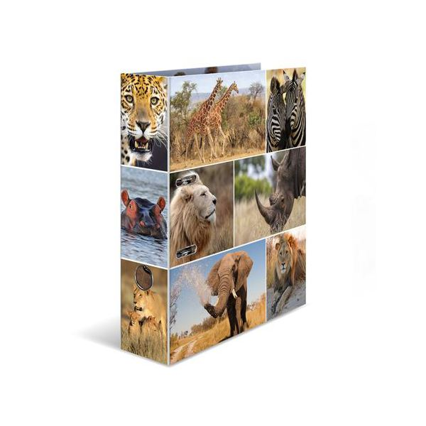 Pořadač pákový A4 Africká zvířata 934113