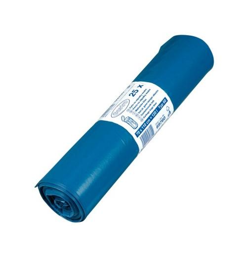 Pytle na odpadky 120l 50 mic 25ks modré 217009