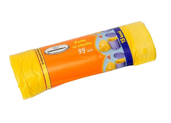 Sáčky na odpadky zatahovací 35l 15ks 213027