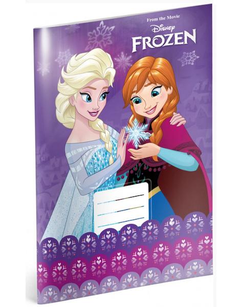 Sešit A4 Frozen linkovaný 424 - 20 listů 302835