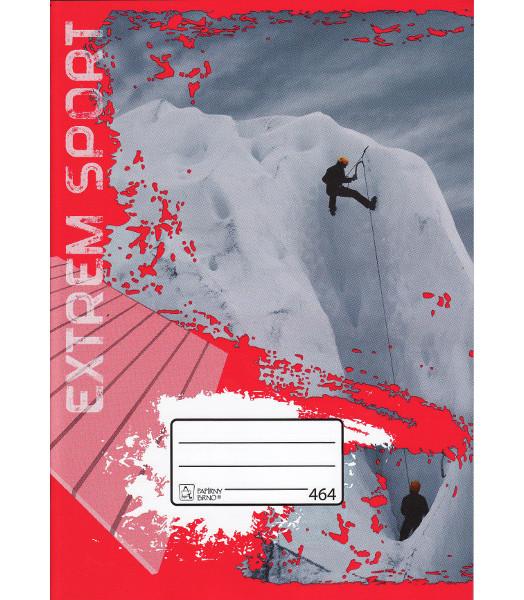 Papírny Brno Školní sešit 464 A4 linkovaný 60 listů 400052