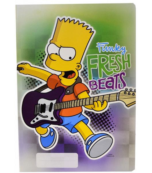 Sešit A4 Simpsons linkovaný 444 40 listů 932374