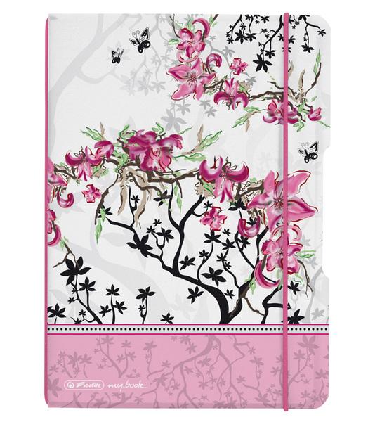 Sešit A5 Flex Ladylike Květ čtvereček 301739
