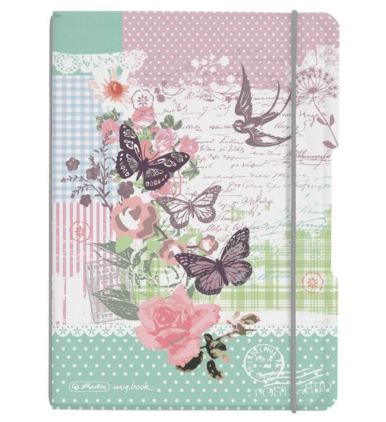 Sešit A5 Flex Ladylike Motýl čtvereček 301740