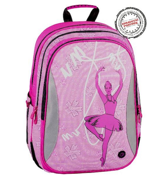 Školní batoh Bagmaster EV07 0114A růžový 301886