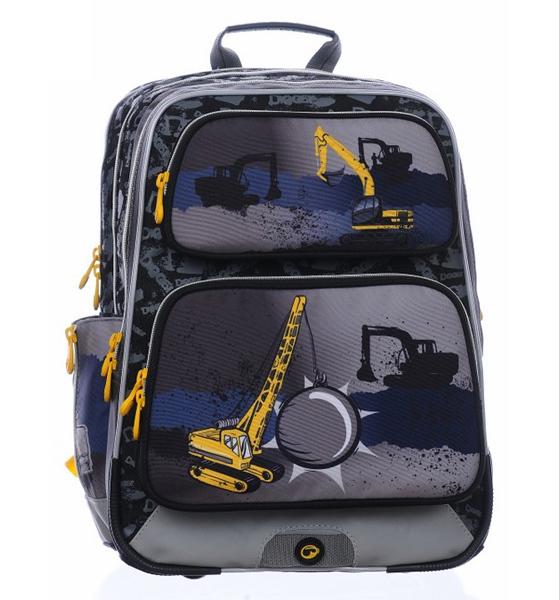 Školní batoh Bagmaster Gotschy 0215 B 301903