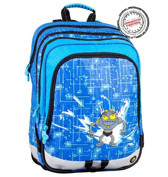 Školní batoh Bagmaster S1A 0114C modrý 301888