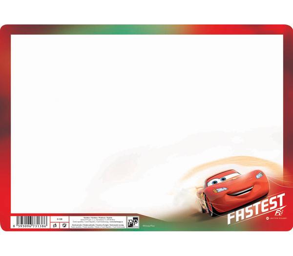 Stíratelná mazací tabulka A4 Cars 301600