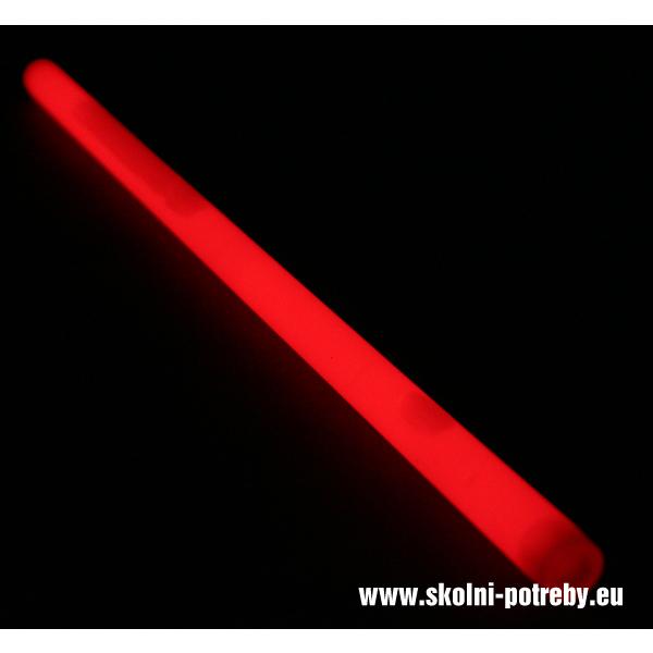 Svítící tyč Monster 36 cm červená 302386