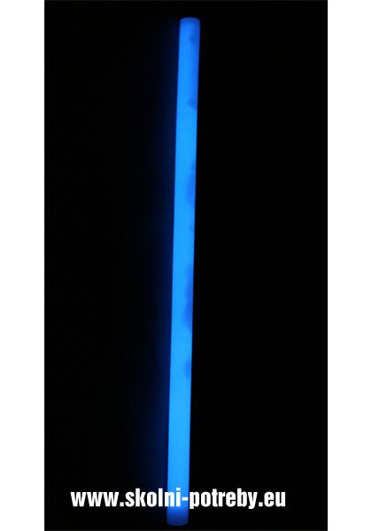 Svítící tyč Monster 36 cm modrá 302387