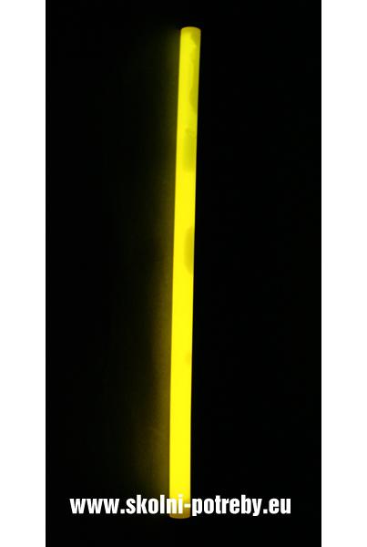 Svítící tyč Monster 36 cm žlutá 302388
