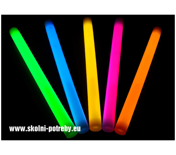 Svítící tyč Párty 24 cm zelená 1ks 302390
