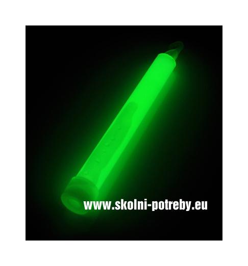 Svítící tyč Sport 16 cm zelená 1ks 302395