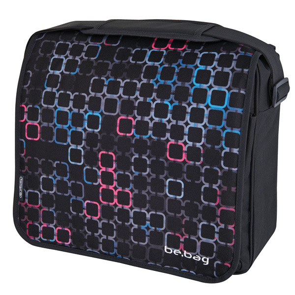 Taška přes rameno be.bag Squares 302691