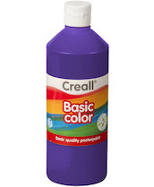 Tempera Creall basic 500ml fialová