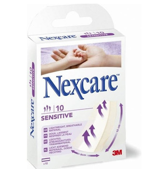 Náplasti 3M Nexcare Sensitive 20 ks