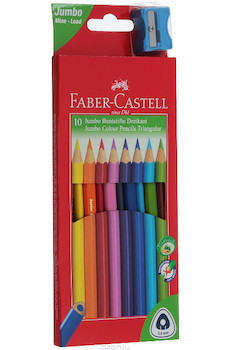 Pastelky Faber Castell 10ks junior grip